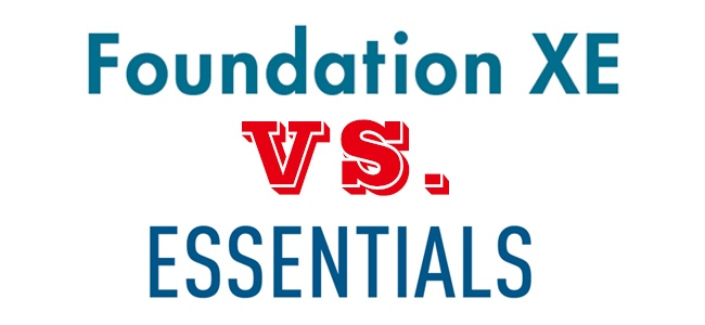 PTC Creo Parametric (Pro/E) Foundation XE vs. Essentials Package