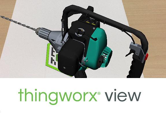 PTC ThingWorx Viewの画面