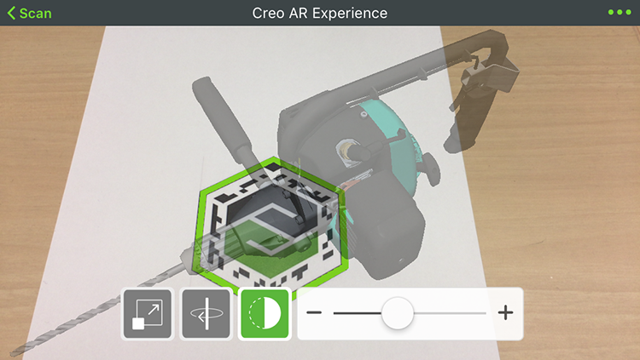 ThingWorx Viewで3¥3Dモデルの透明度を調整