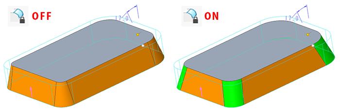 Creo Parametric 5.0の新しいオプションの効果
