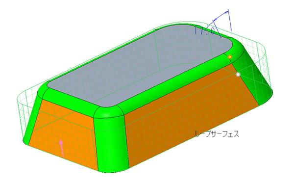 Creo Parametricのドラフトオプションの効果