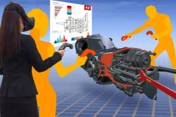 VR空間で設計レビューを実現